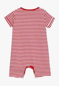 mothercare - PROMO STRIPE ROMPER BABY - Mono - red - 1