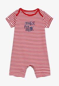 mothercare - PROMO STRIPE ROMPER BABY - Mono - red - 3