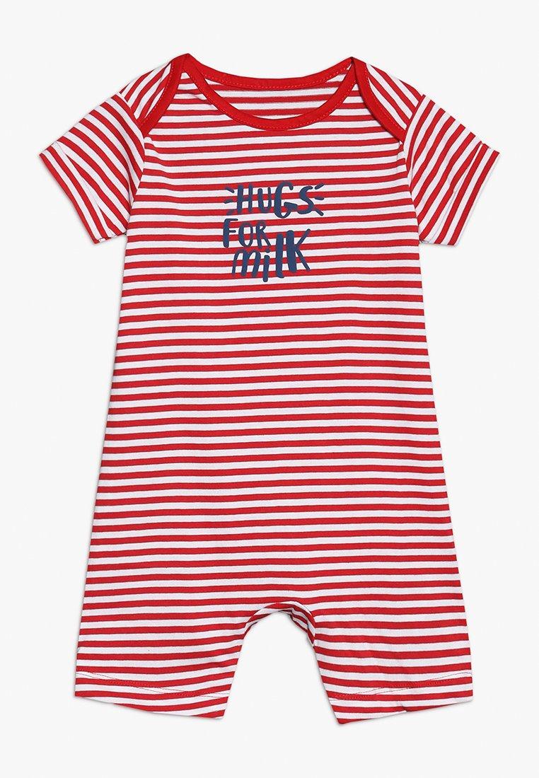 mothercare - PROMO STRIPE ROMPER BABY - Mono - red