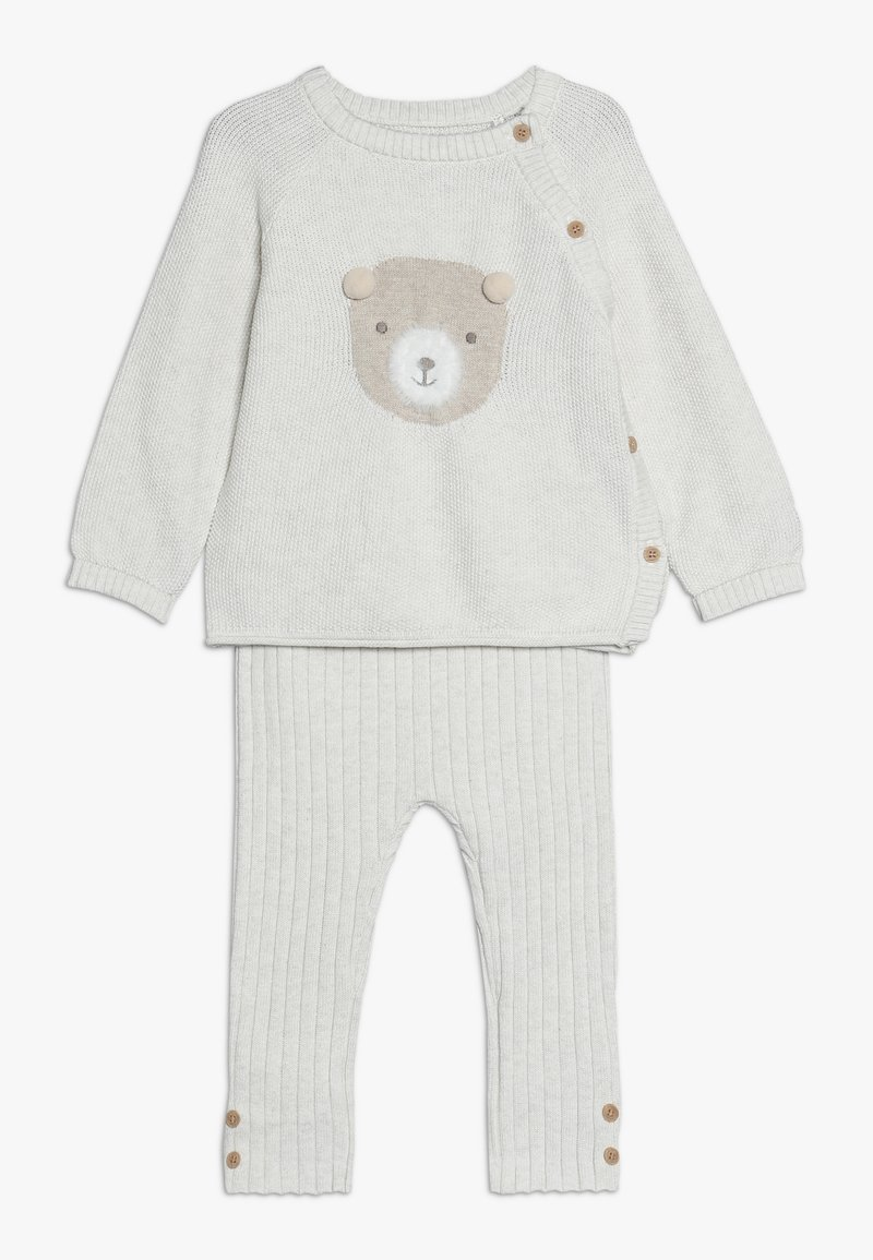 mothercare - BABY BEAR SET - Svetr - oatmeal