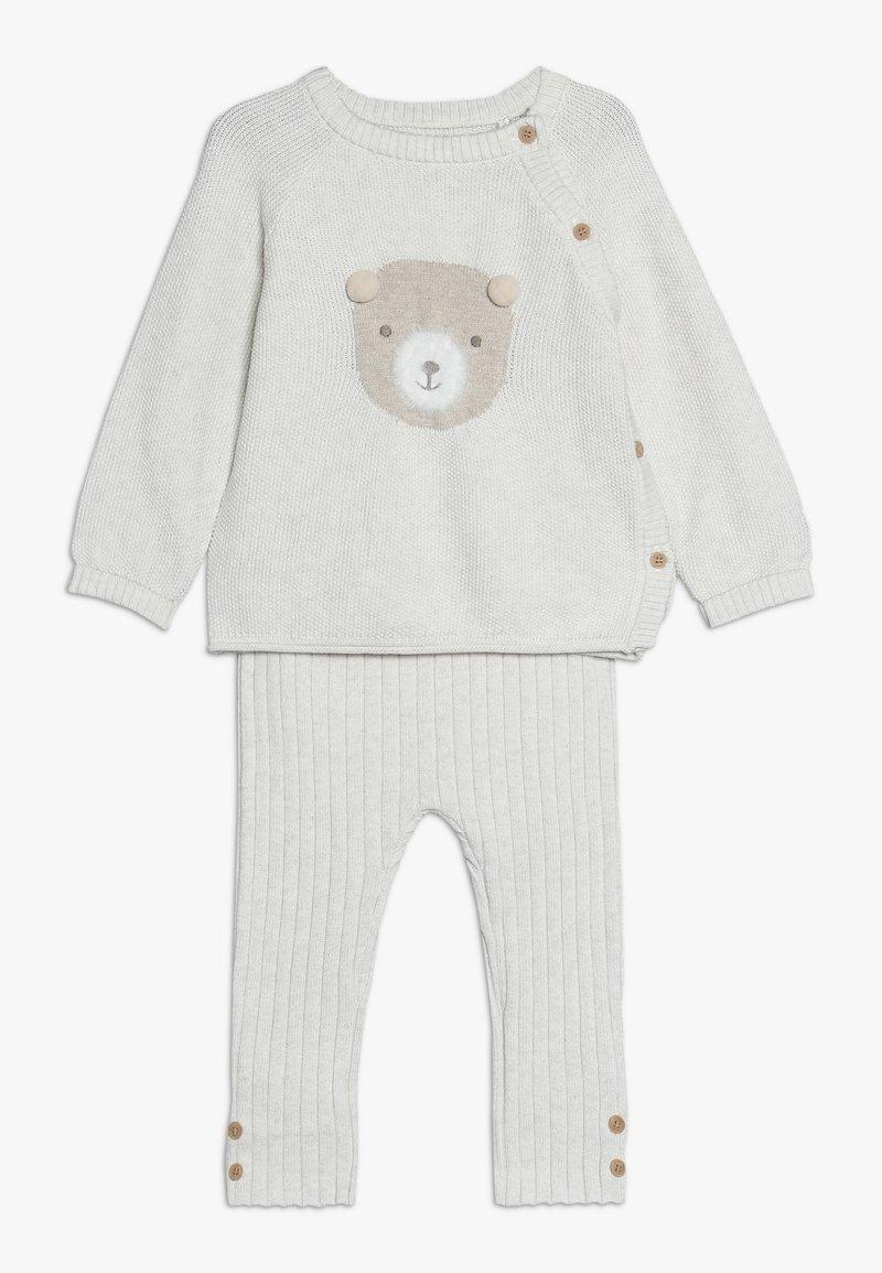 mothercare - BABY BEAR SET - Jumper - oatmeal