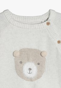 mothercare - BABY BEAR SET - Svetr - oatmeal - 6