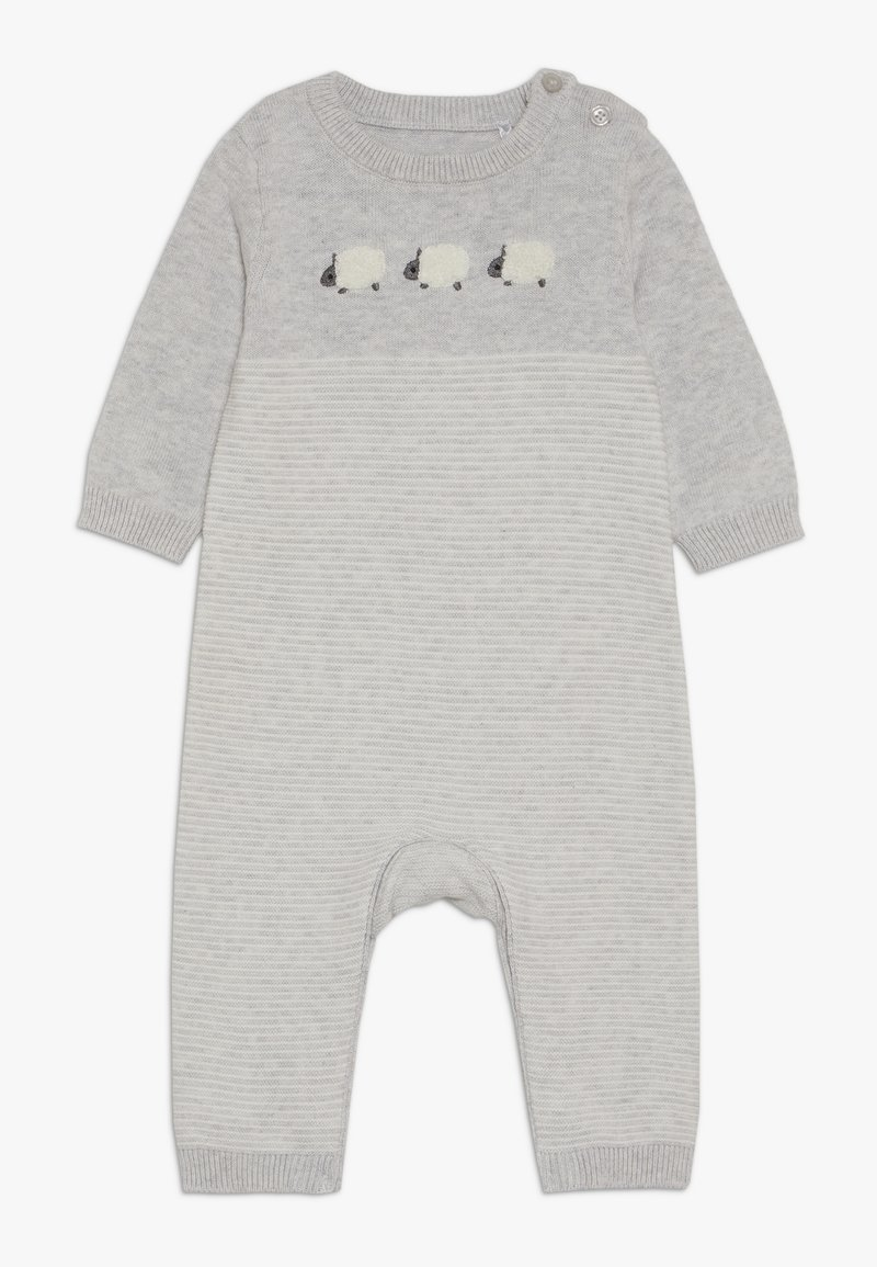 mothercare - BABY LAMB - Jumpsuit - grey