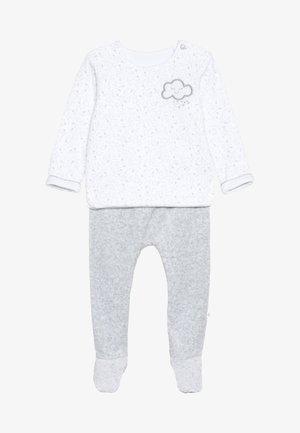 BABY VELOUR SET - Sweatshirt - white