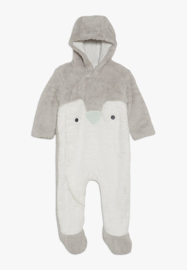 BABY FESTIVE FLUFFY PENGUIN - Jumpsuit - grey