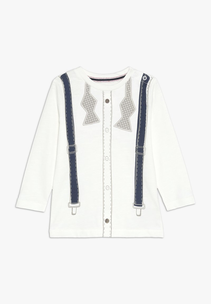 mothercare - BABY TROMPE  - Long sleeved top - white
