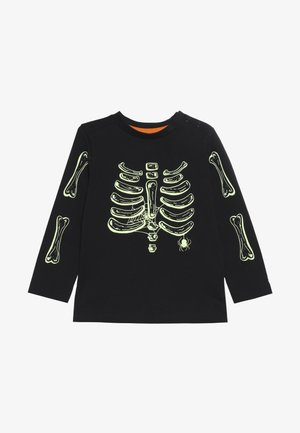 BABY HALLOWEEN SKELETON - Long sleeved top - black