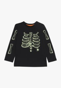 mothercare - BABY HALLOWEEN SKELETON - Top sdlouhým rukávem - black - 0