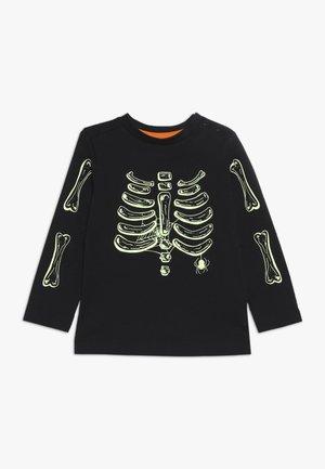 BABY HALLOWEEN SKELETON - Long sleeved top - black