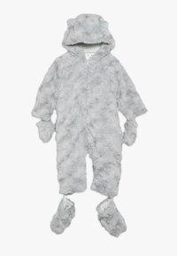 mothercare - BABY FLUFFY SNOWSUIT - Skipak - grey - 0