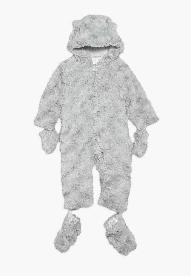BABY FLUFFY SNOWSUIT - Talvihaalari - grey