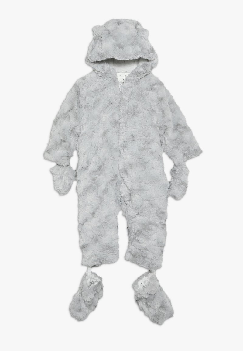 mothercare - BABY FLUFFY SNOWSUIT - Skipak - grey