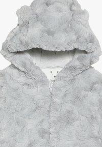 mothercare - BABY FLUFFY SNOWSUIT - Skipak - grey - 4