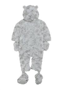 mothercare - BABY FLUFFY SNOWSUIT - Skipak - grey - 1