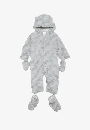 BABY FLUFFY SNOWSUIT - Skioverall / Skidragter - grey