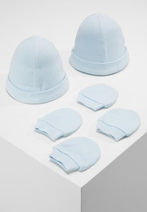 HAT AND MITT 2 PACK  - Čepice - pale blue