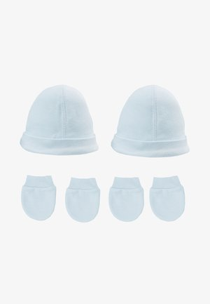 HAT AND MITT 2 PACK  - Pipo - pale blue