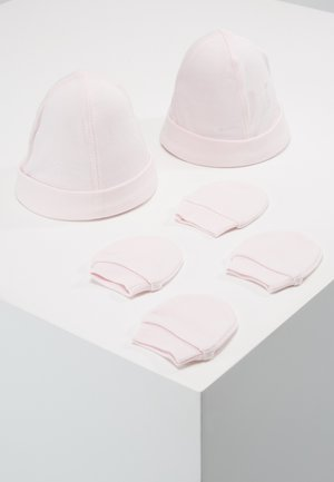 HAT AND MITT 2 PACK - Mössa - barely pink
