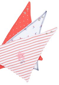 mothercare - GIRLS SEASIDE BIBS BABY 3 PACK - Šátek - red/white - 4