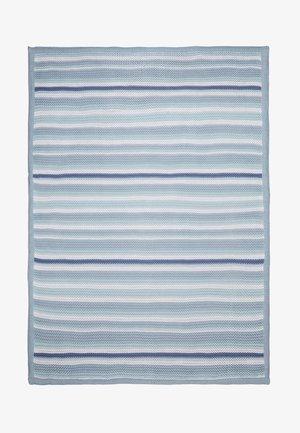 BABY STRIPE BLANKET - Baby blanket - blue