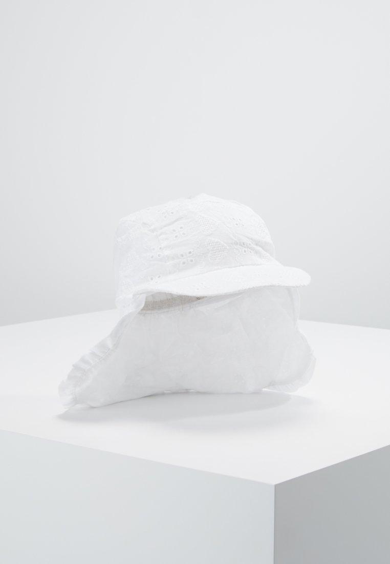 mothercare - BRODERIE KEPPI MINI - Cap - white