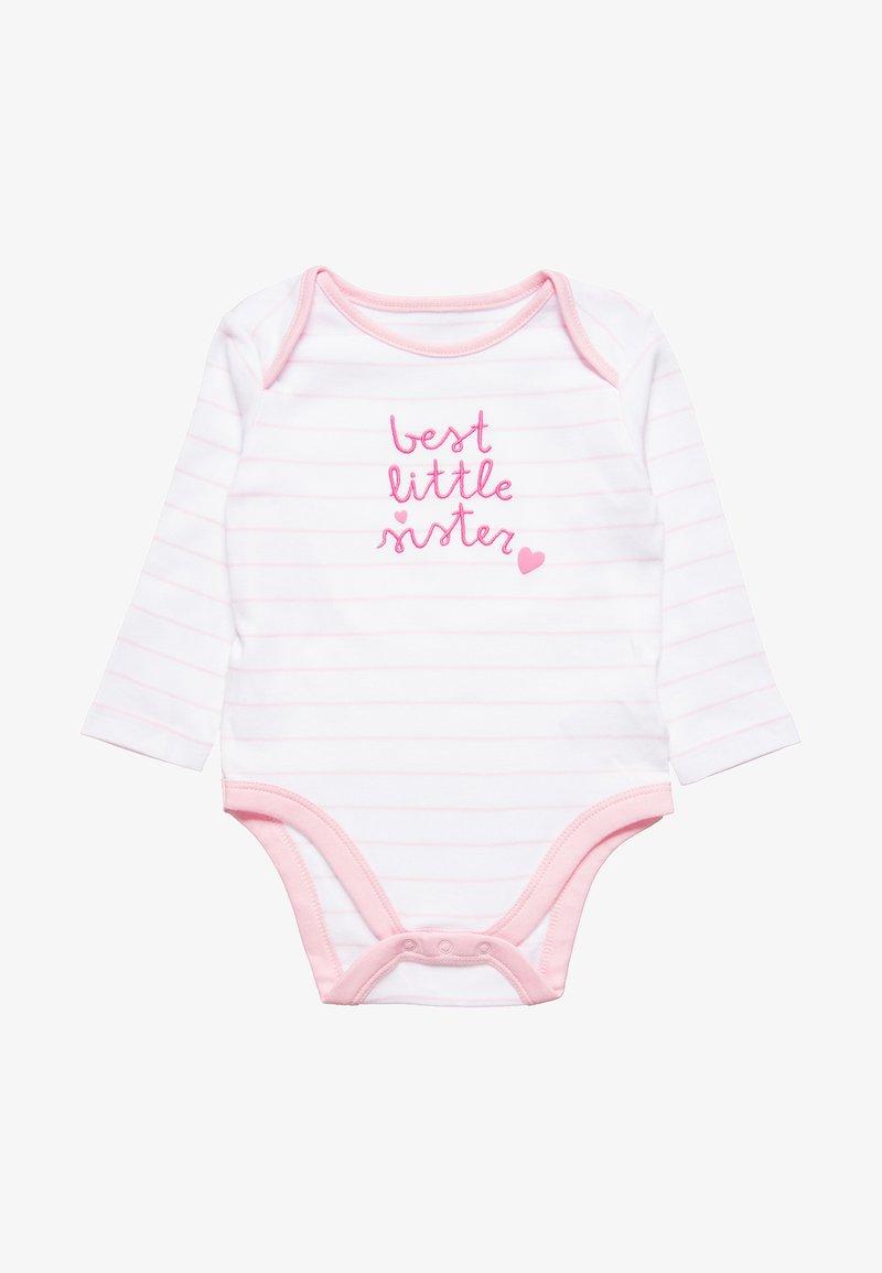 mothercare - SINGLE SLOGAN LITTLE SISTER BABY - Body - lights multicolor