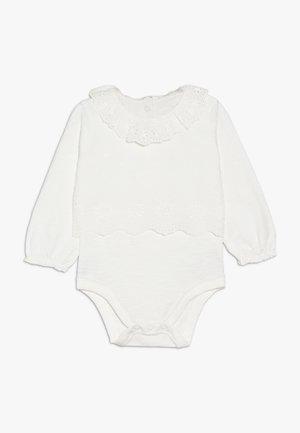 BABY MOCK BLOUSE BODYSUIT - Body - white