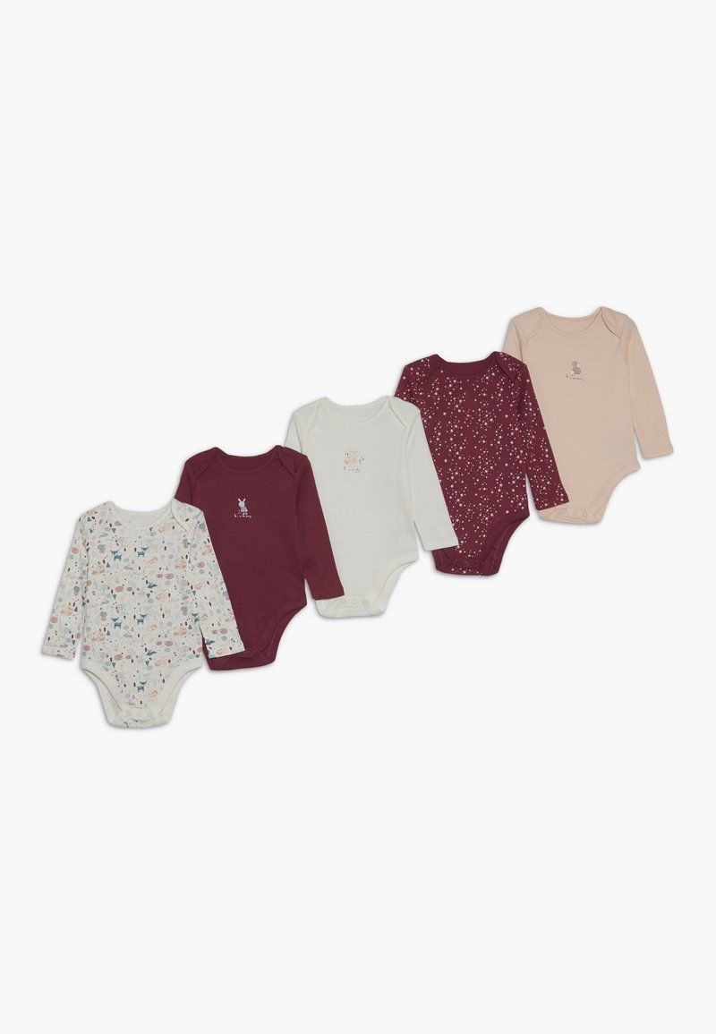 mothercare - BABY WOODLAND 5 PACK - Body - pink