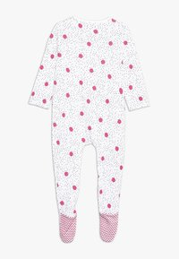 mothercare - BABY SPOTTY SLEEPSUITS 3 PACK  - Pyžamo - bright pink - 1