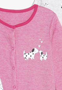 mothercare - BABY SPOTTY SLEEPSUITS 3 PACK  - Pyžamo - bright pink - 4
