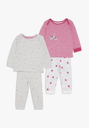 BABY SPOTTY PUPPY 2 Pack - Yöasusetti - bright pink
