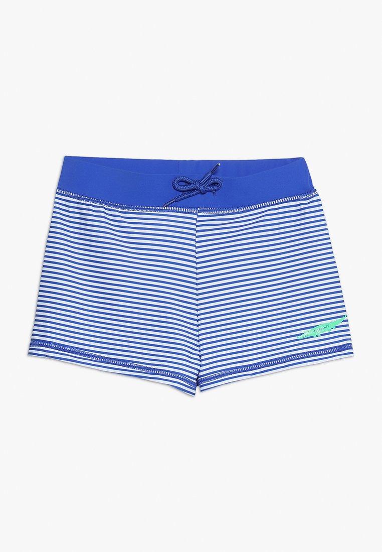 mothercare - SWIM STRIPE TRUNKIE - Badehose Pants - blue/white