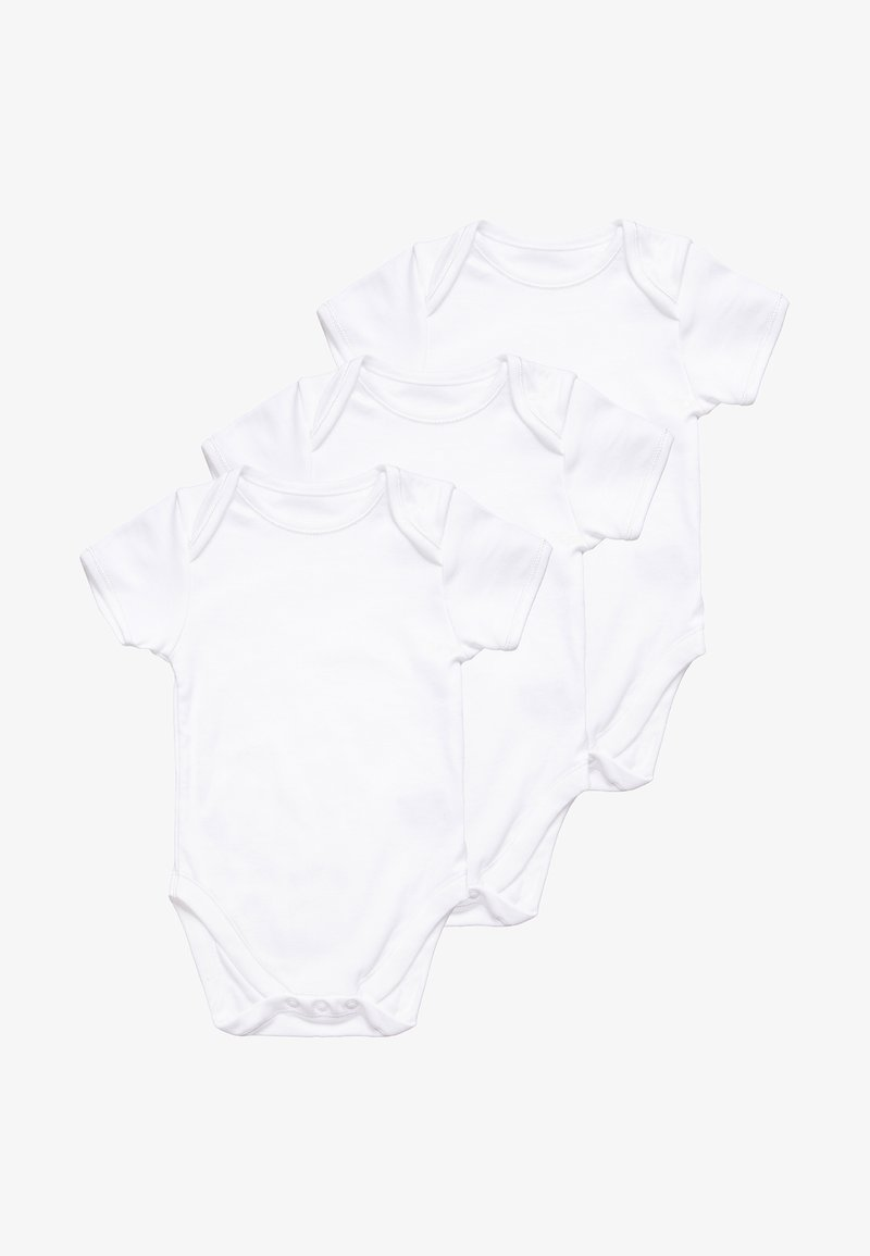mothercare - CONT BABY 3 PACK - Body - white