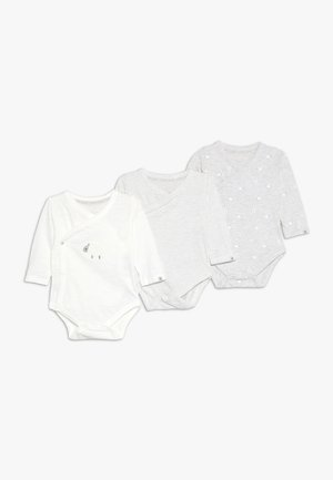 BABY WRAP 3 PACK  - Body - grey