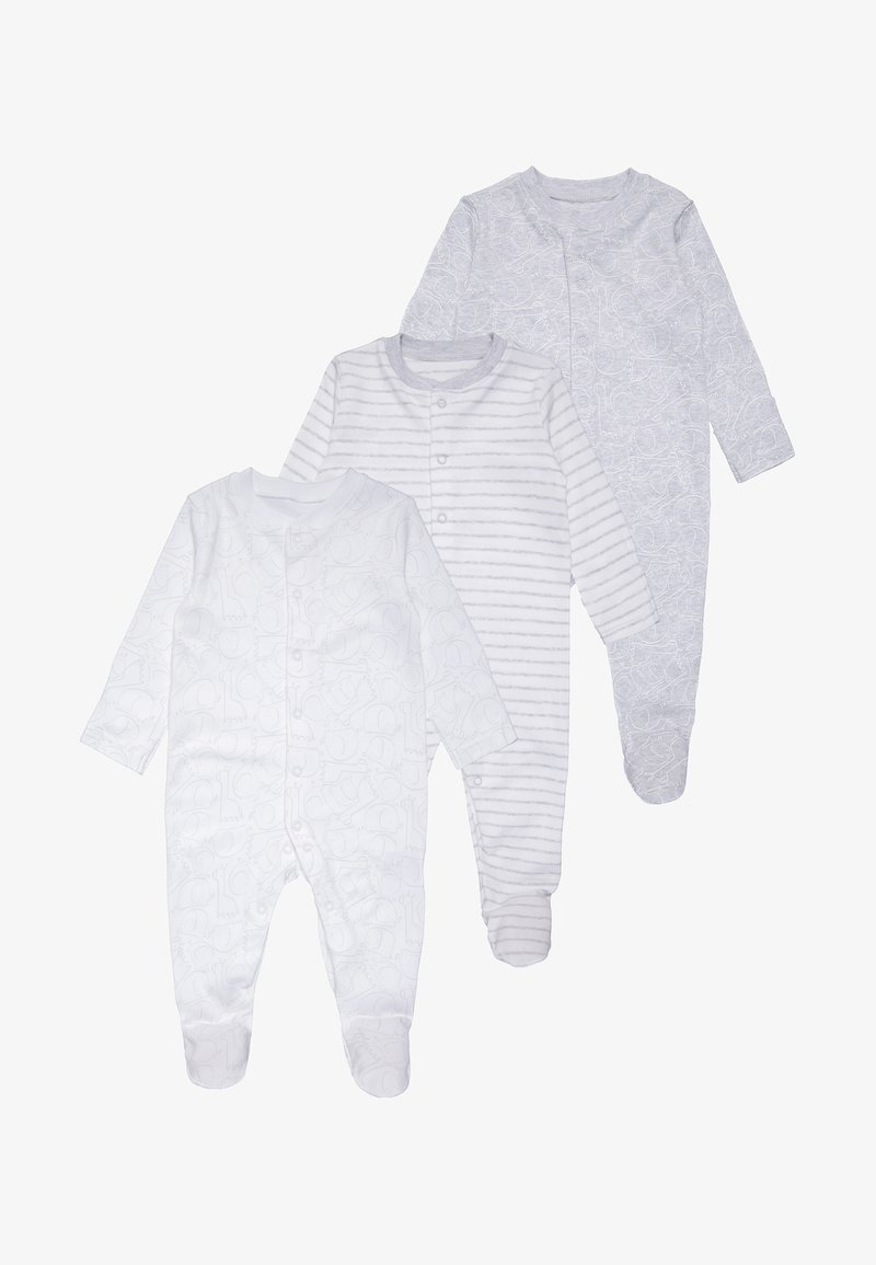 mothercare - 3 PACK - Pyjamas - grey