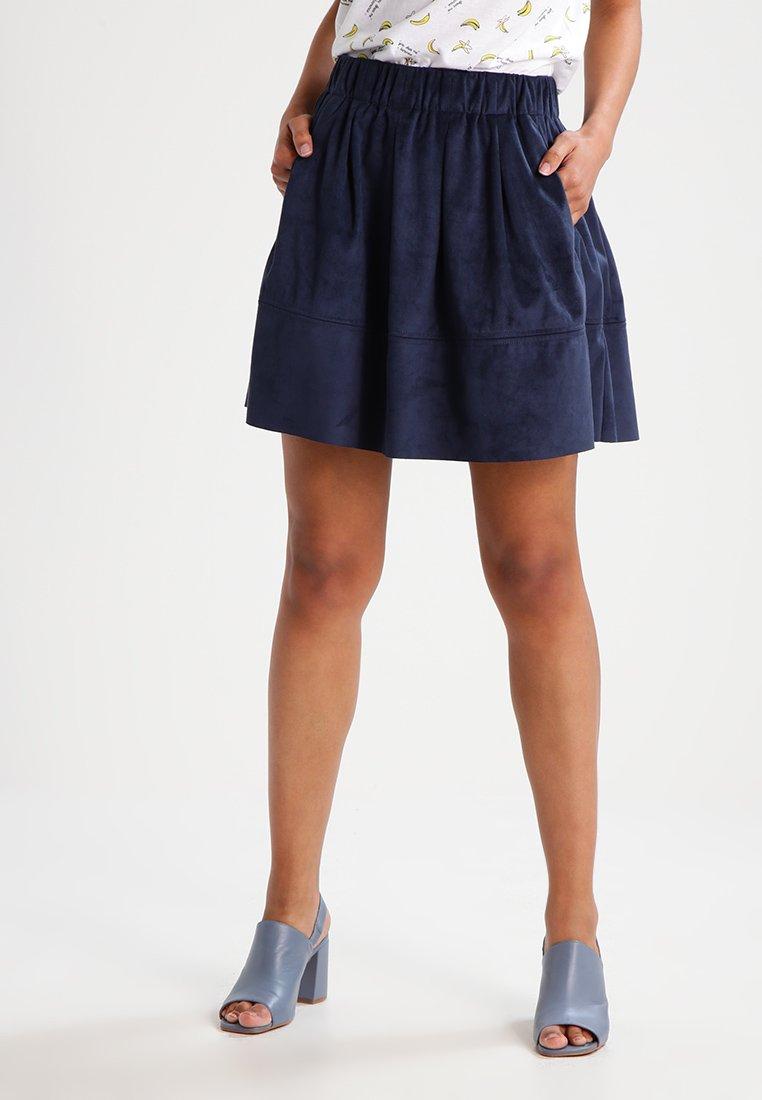 Moves - KIA - A-line skirt - navy