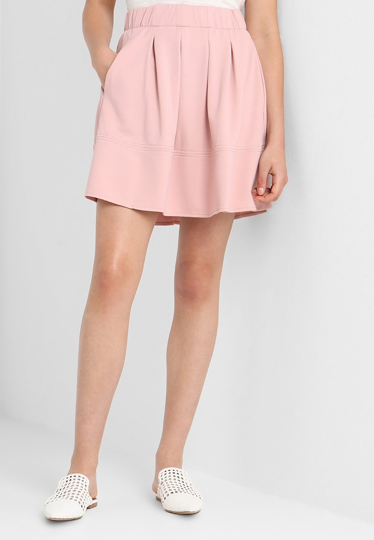 Moves - KIA JERSEY SKIRT - A-Linien-Rock - rose