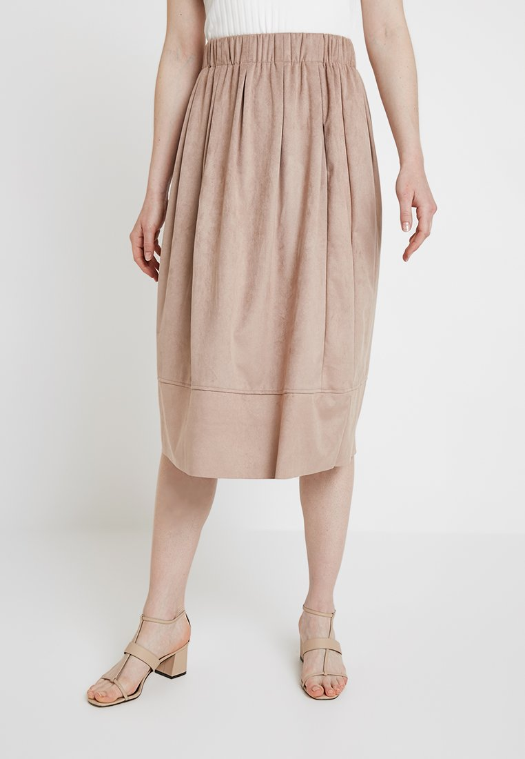 Moves - KIA MIDI - A-line skirt - warm sand
