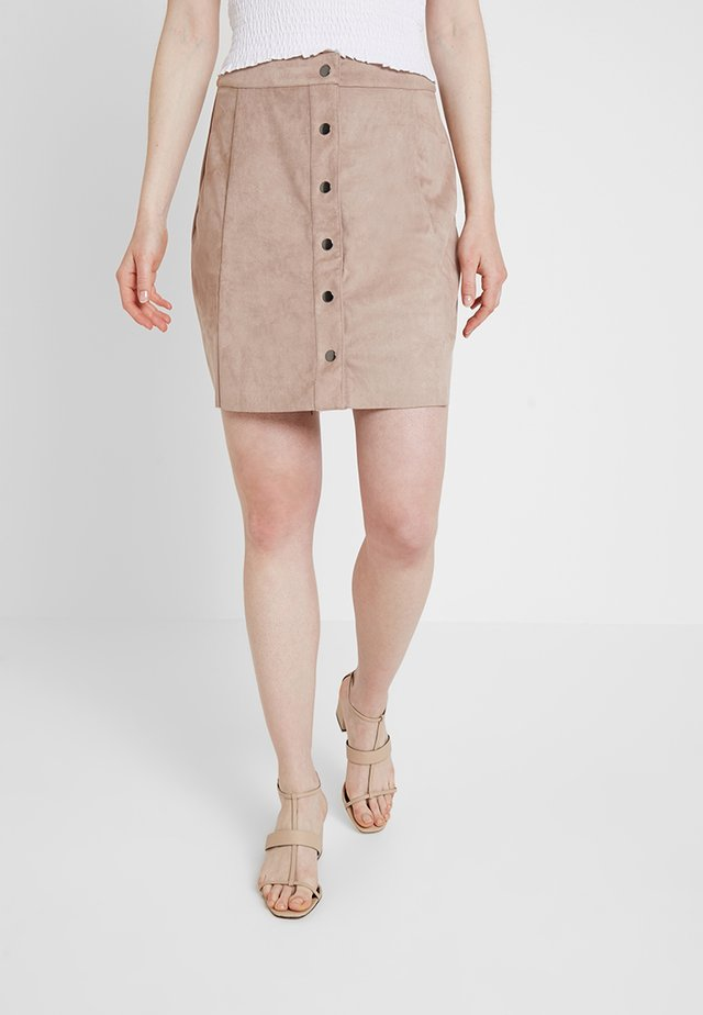 HENRI - A-line skirt - warm sand