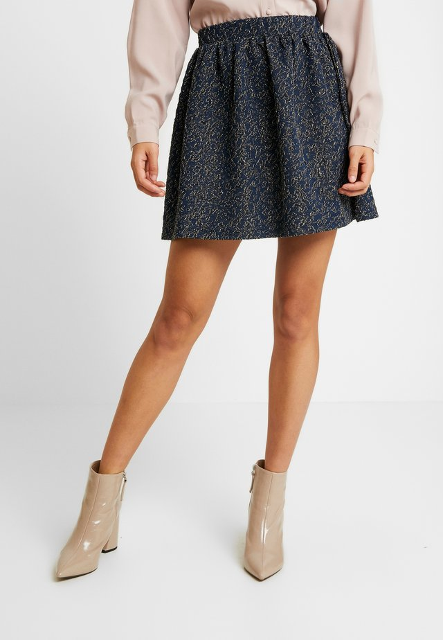 KIALINA - A-line skirt - midnight