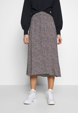 JIVA - A-line skirt - navy