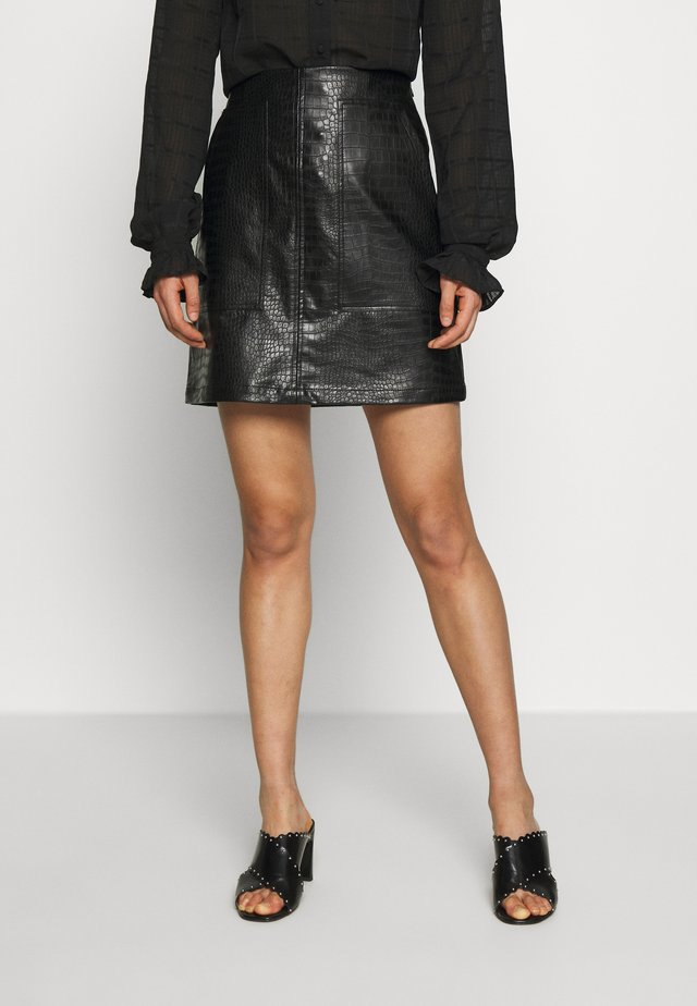 CROCA - A-line skirt - black