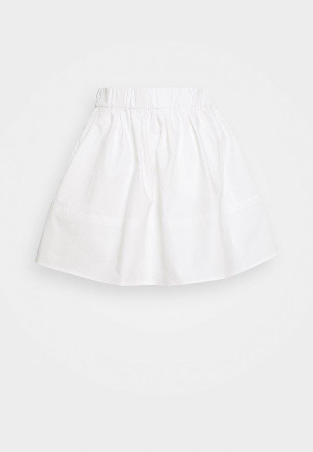 KIA COTTON 1830 - Pliceret nederdel /Nederdele med folder - white