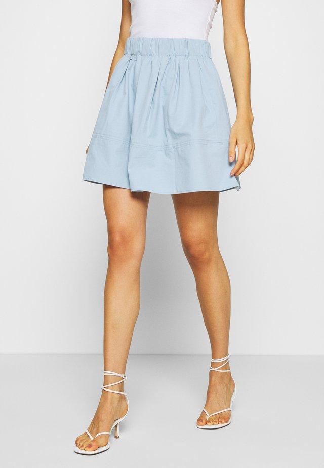KIA - Áčková sukně - spring blue