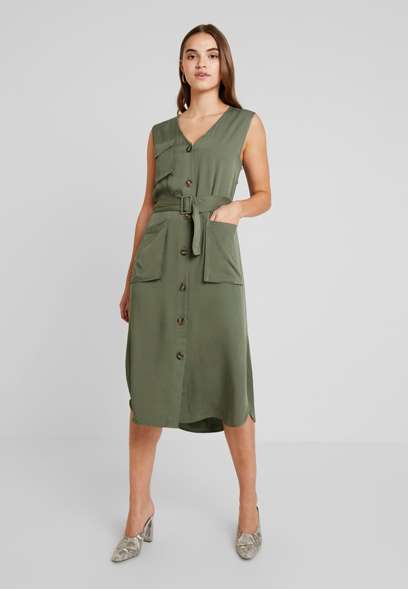 Moves - AURELI - Maxikleid - dusty green