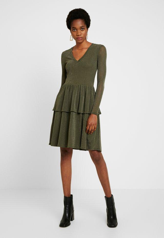 TIBA - Sukienka letnia - olive drab