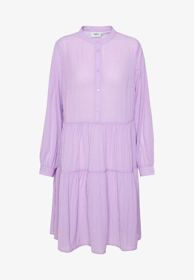 VALIS - Skjortekjole - lilac