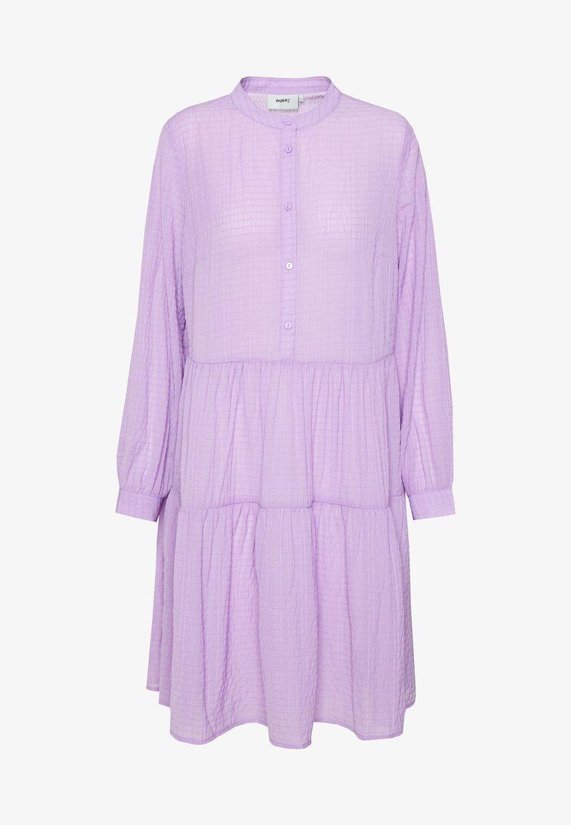 Moves - VALIS - Skjortekjole - lilac