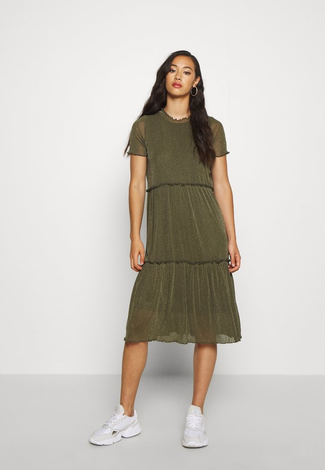 NAKKI - Jumper dress - olive
