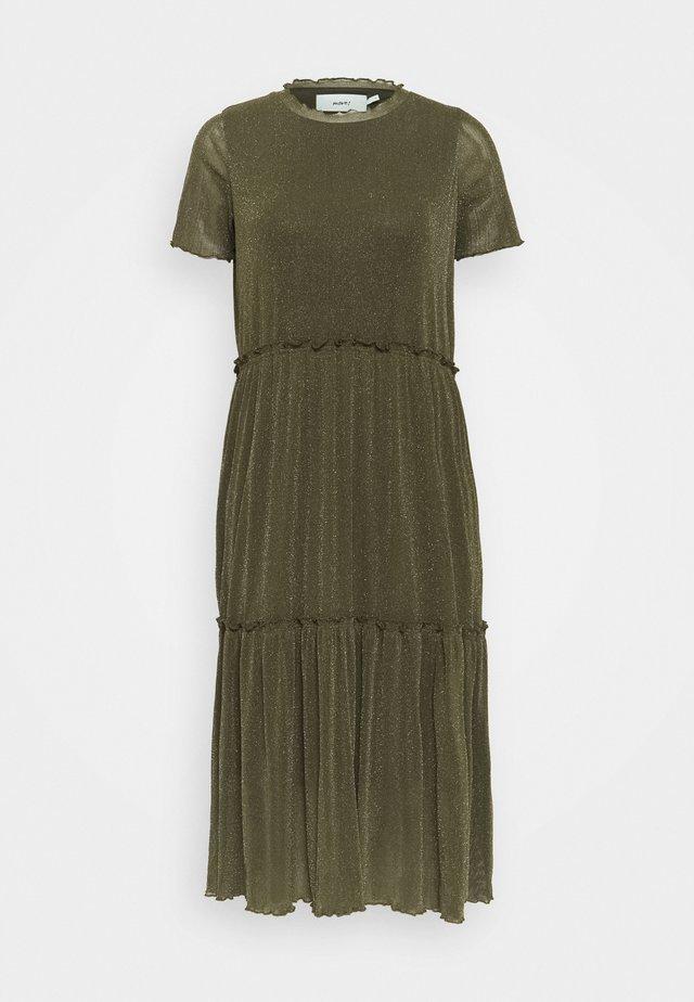 NAKKI - Korte jurk - olive